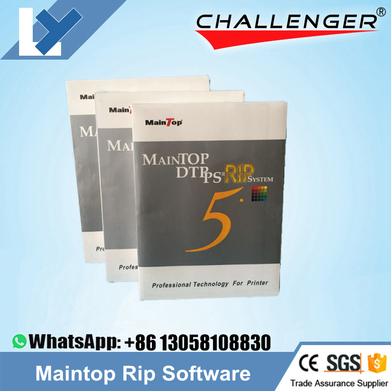 [Hot Item] 5 3 Version Inkjet Printer Maintop Rip Software (English  Version) for Large Format Printer UV Printer