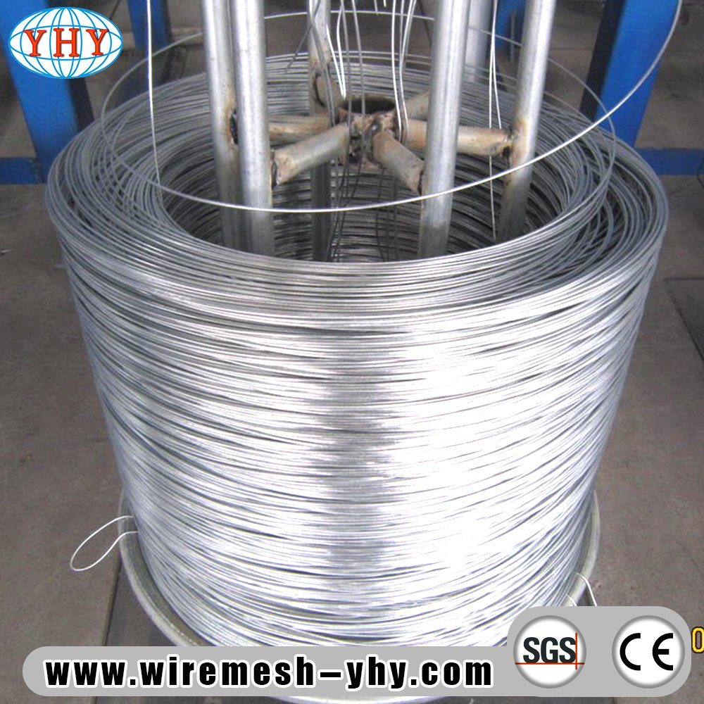 China High Tension Galvanized Wire Used for Wire Mesh Construction ...