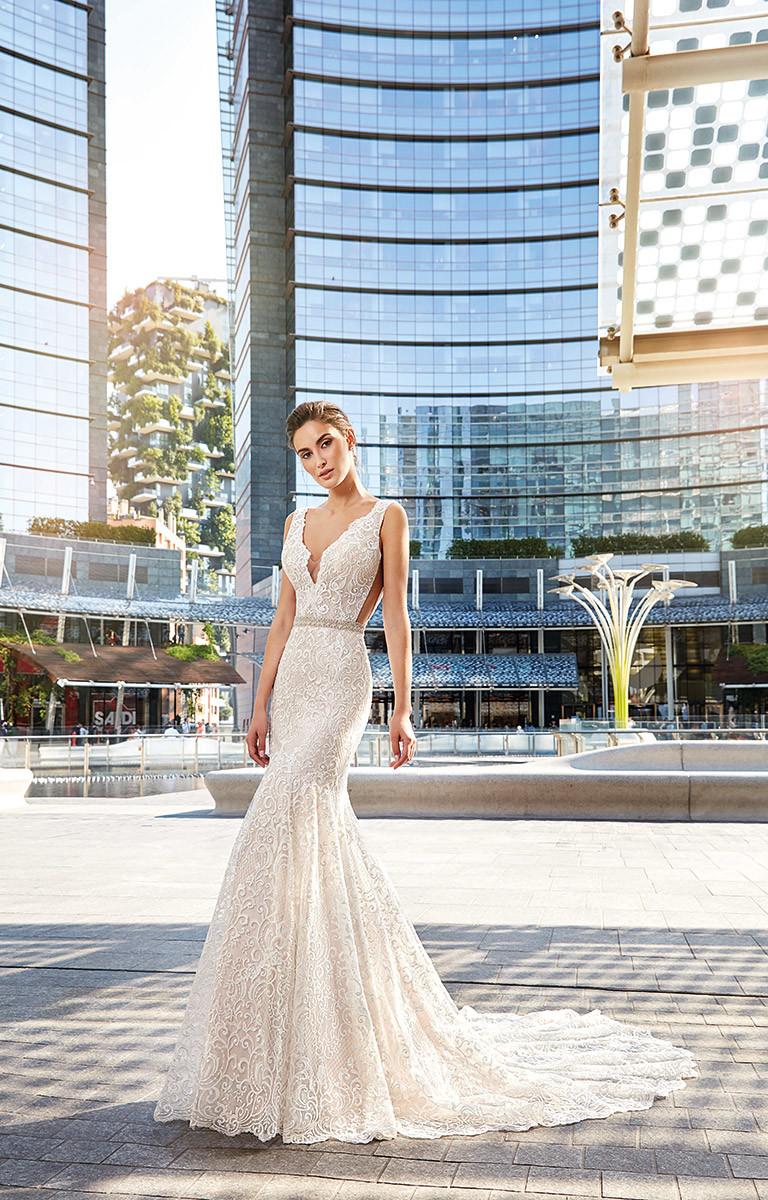 China Amelie Rocky 2018 Mermaid Lace Summer Wedding Dress China