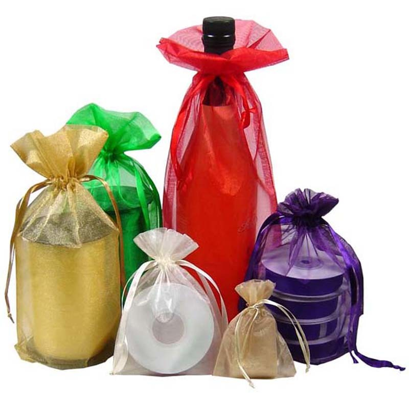 China Premium Organza Wedding Favour Gift Bags Jewellery Pouch