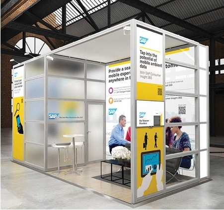 Expo Exhibition Stands In : China commercialize and smart exhibition booth design for expo with