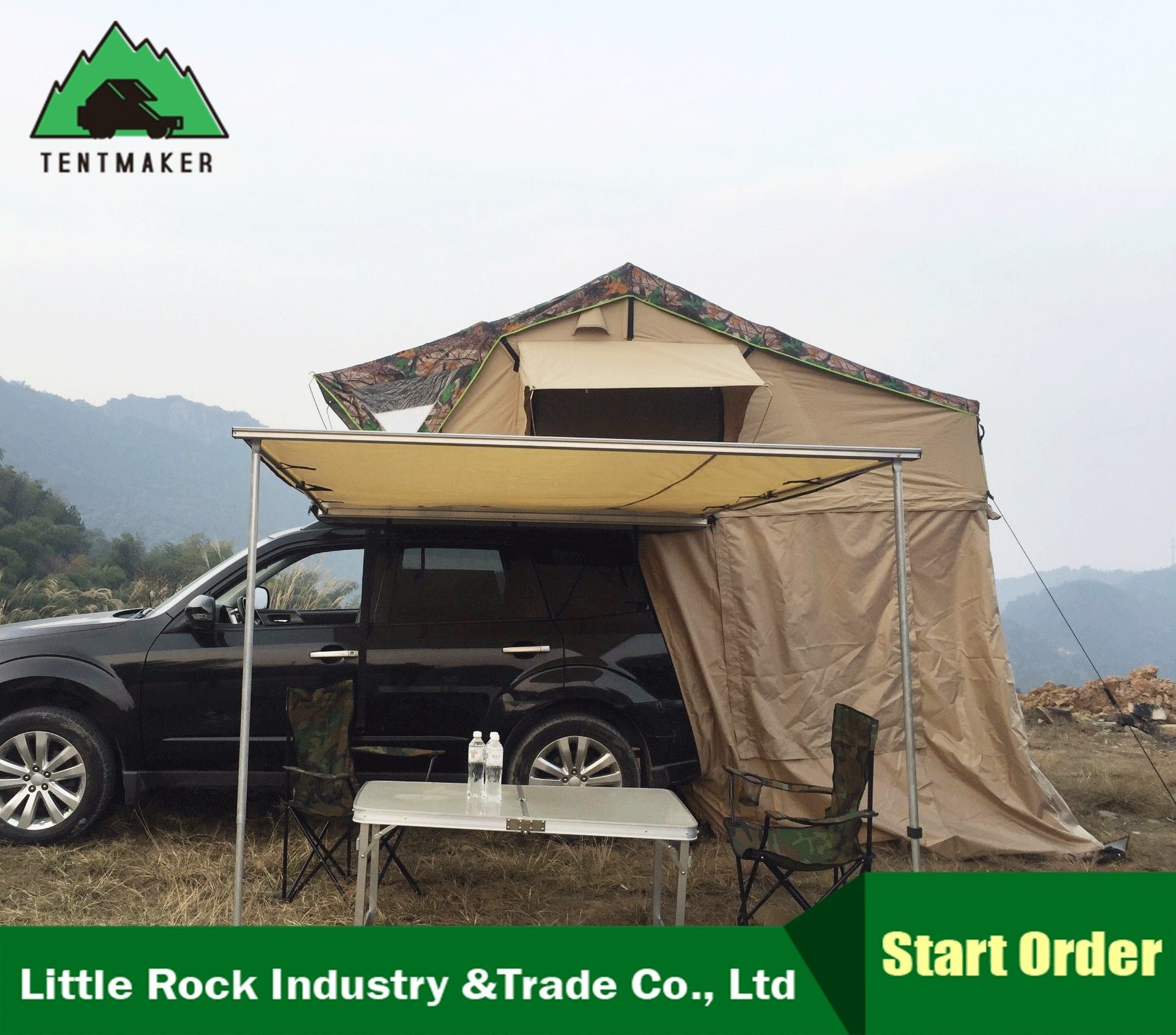 4Wd Awning Tent [hot item] 4x4 suv car side awning roof top tent 4wd awning