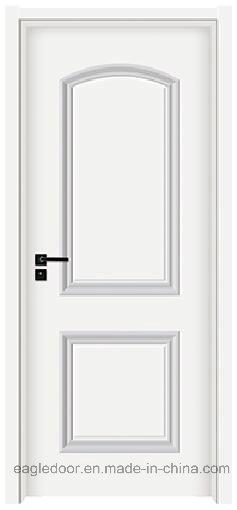 China Cheap Polyurethane Foam Core Whithe Colour Wooden Molded Door