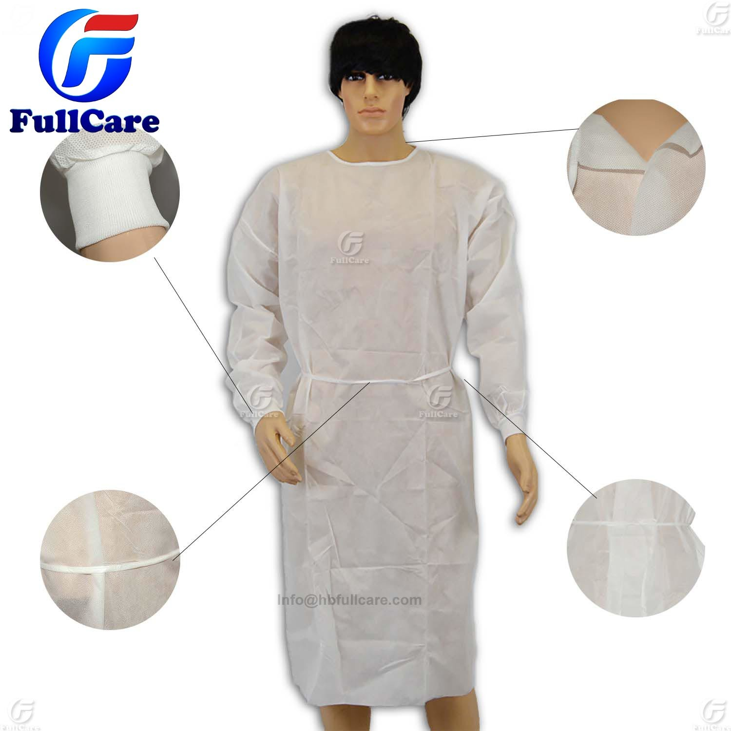 China Sterile Disposable Nonwoven Surgical Gown, Isolation Gown ...
