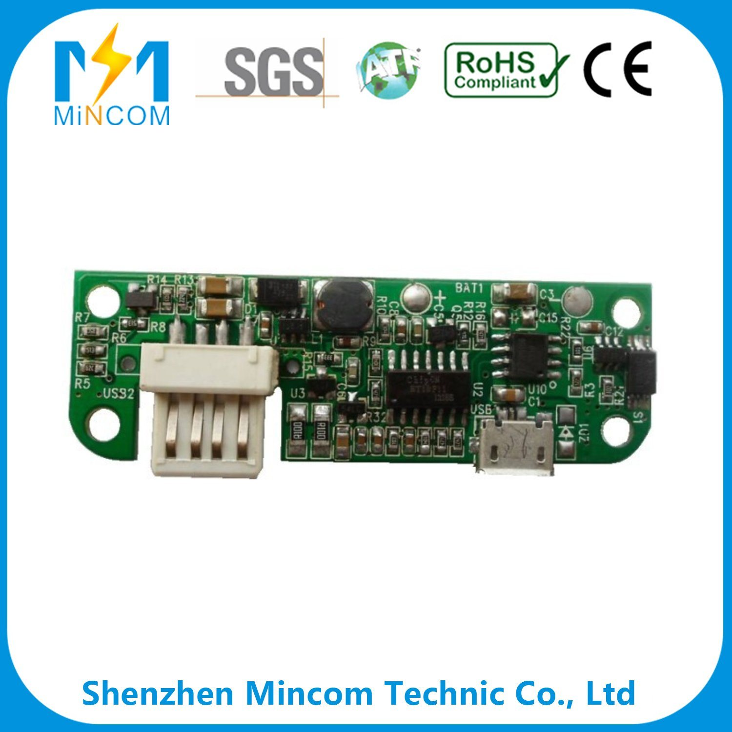 china rigid printed circuit board assembly pcba service for smart