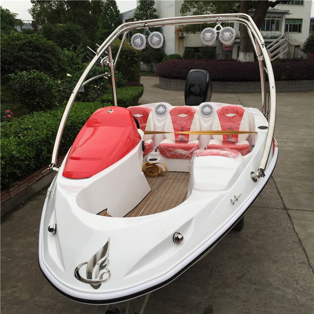 Small Jet Boats >> Hot Item Small Sport Speed Jet Boat With Carbon Fiber Instrumental Panel