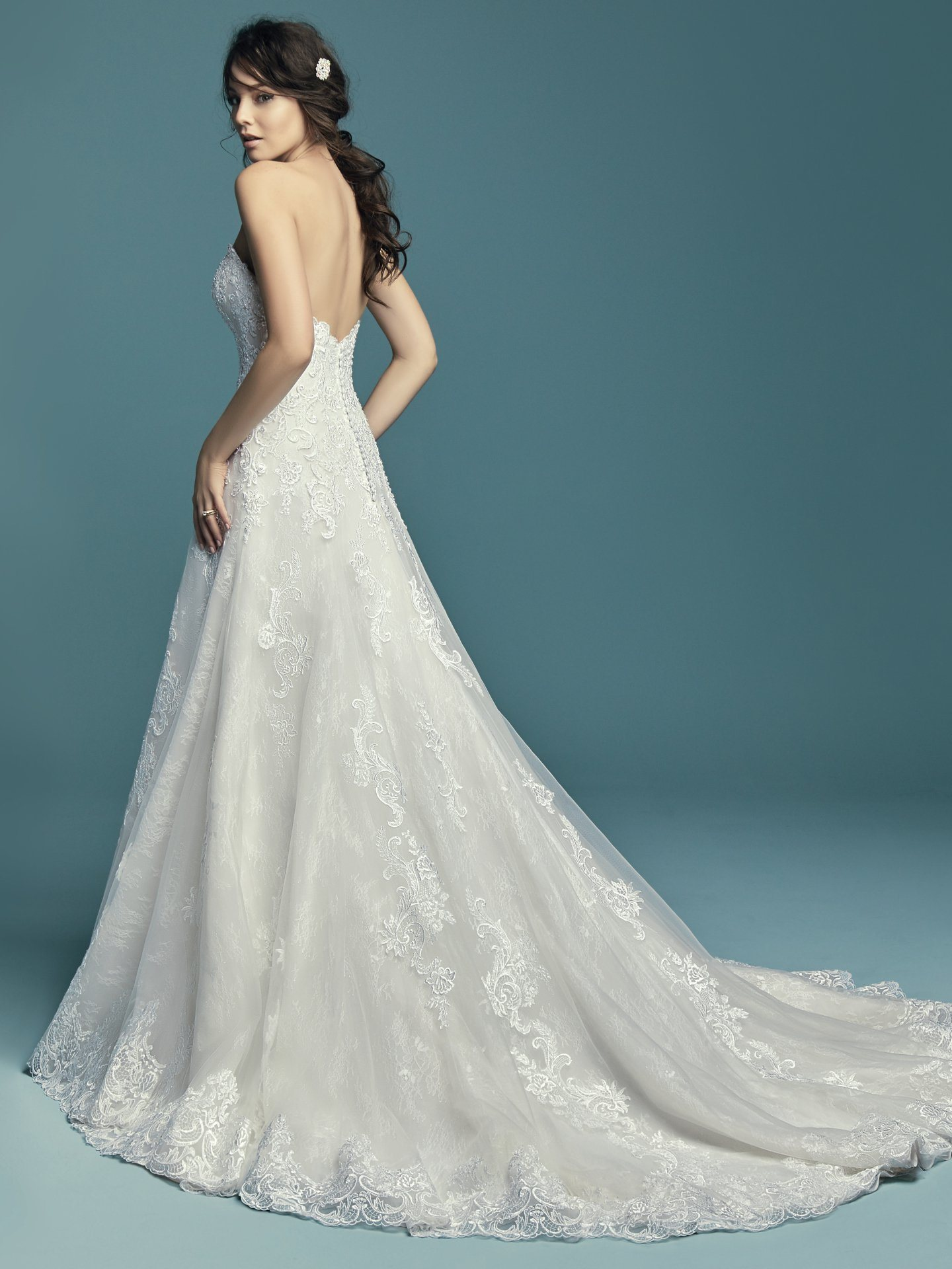 China Cap Sleeves Bridal Dress Sweetheart Plus Size Wedding Gown ...