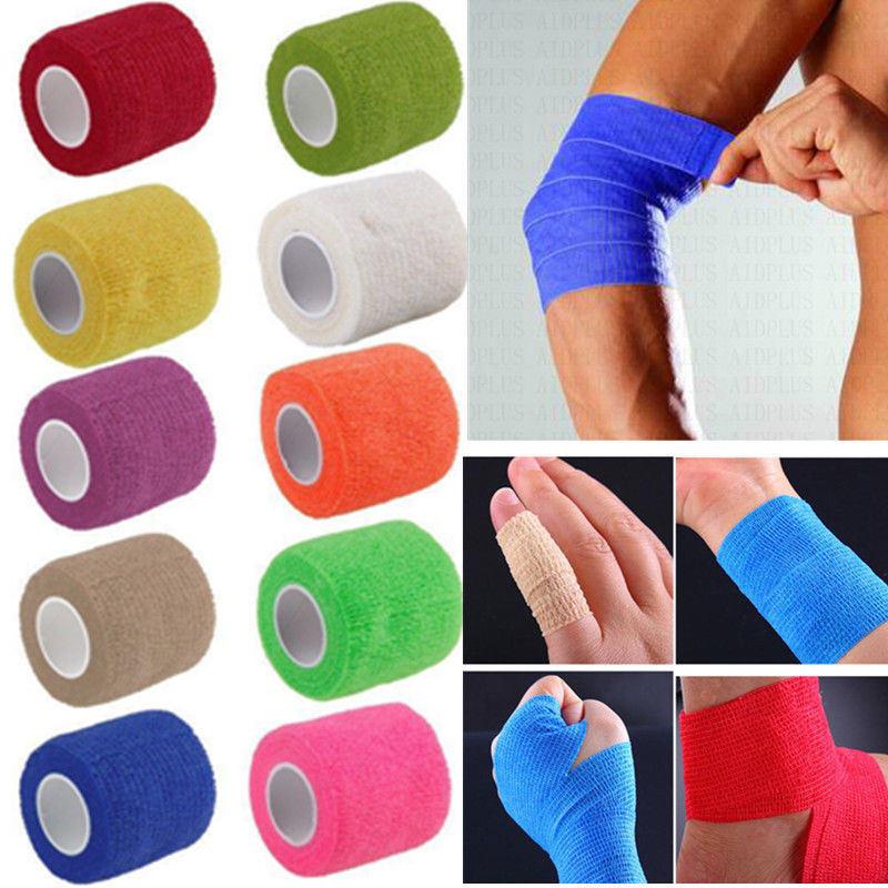 China Coban Coflex Nonwoven Bandage Colored Vet Wrap Elastic Cohesive Bandage China Self Adhesive Bandage Sport