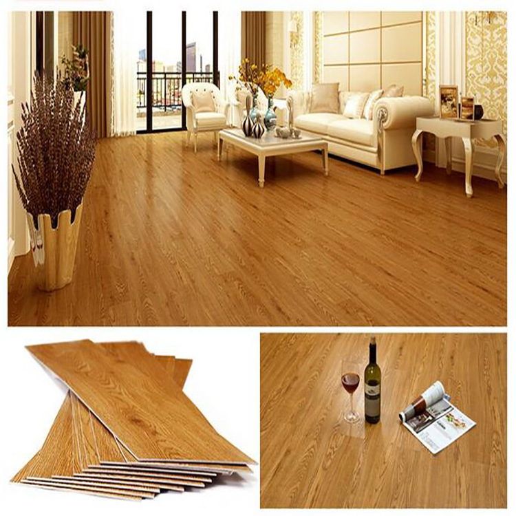 China Customized Thickness Golden Select Flooring Pvc Vinyl Click