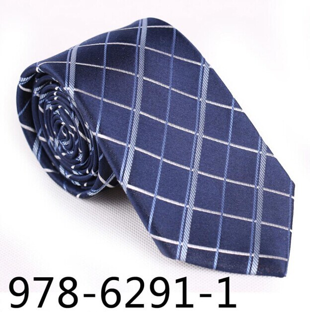 New Design Fashionable Check Necktie (6291-1)