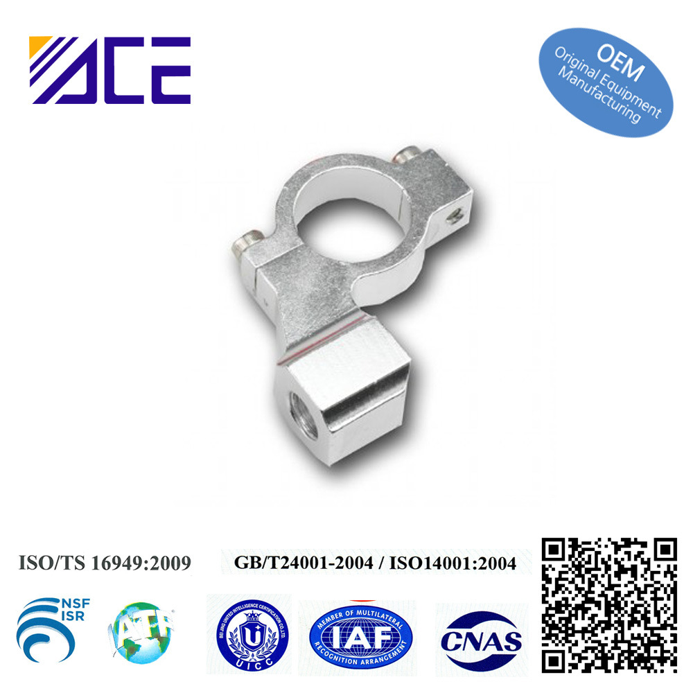 Machining Parts Aluminum Cable Clamp