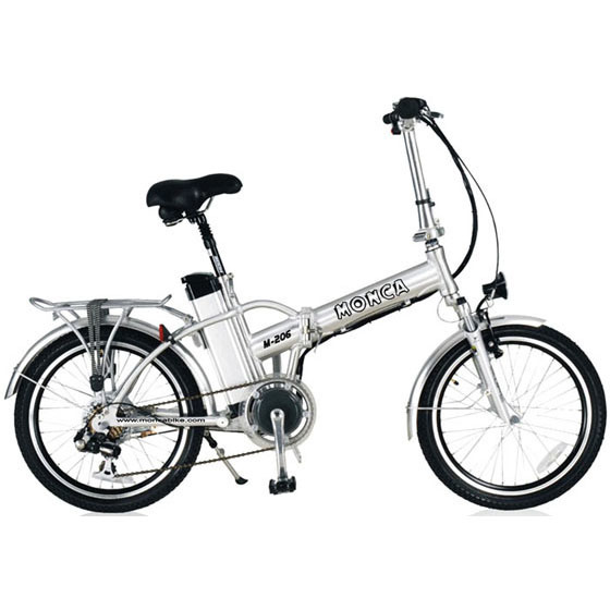 China Foldable Alloy Frame E Bicycle Folded Electric Bike Folding