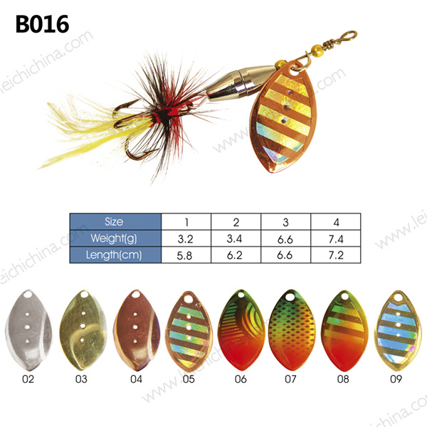 Low Price Metal Fishing Lure Spinner