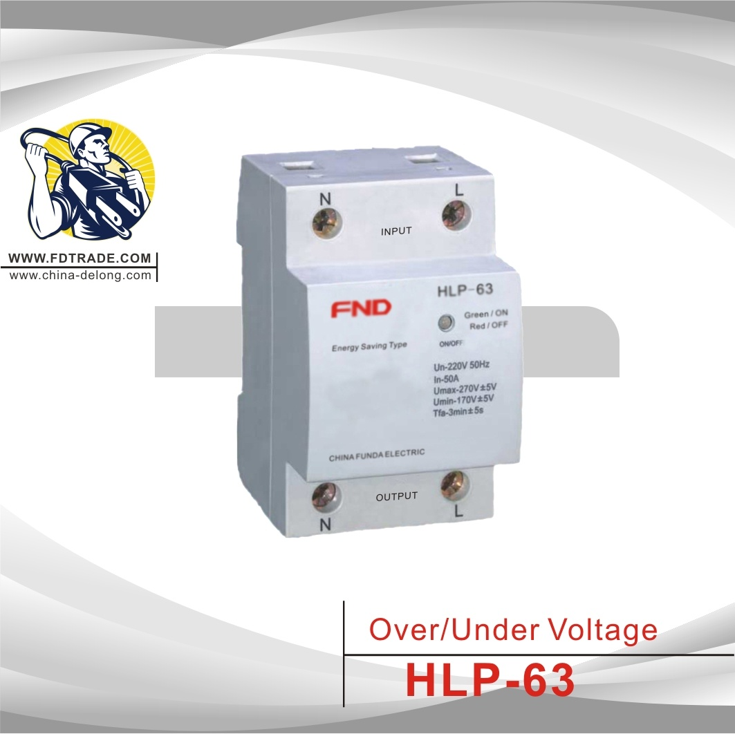 China Over Under Voltage Protector Hlp 63 Protection Circuit