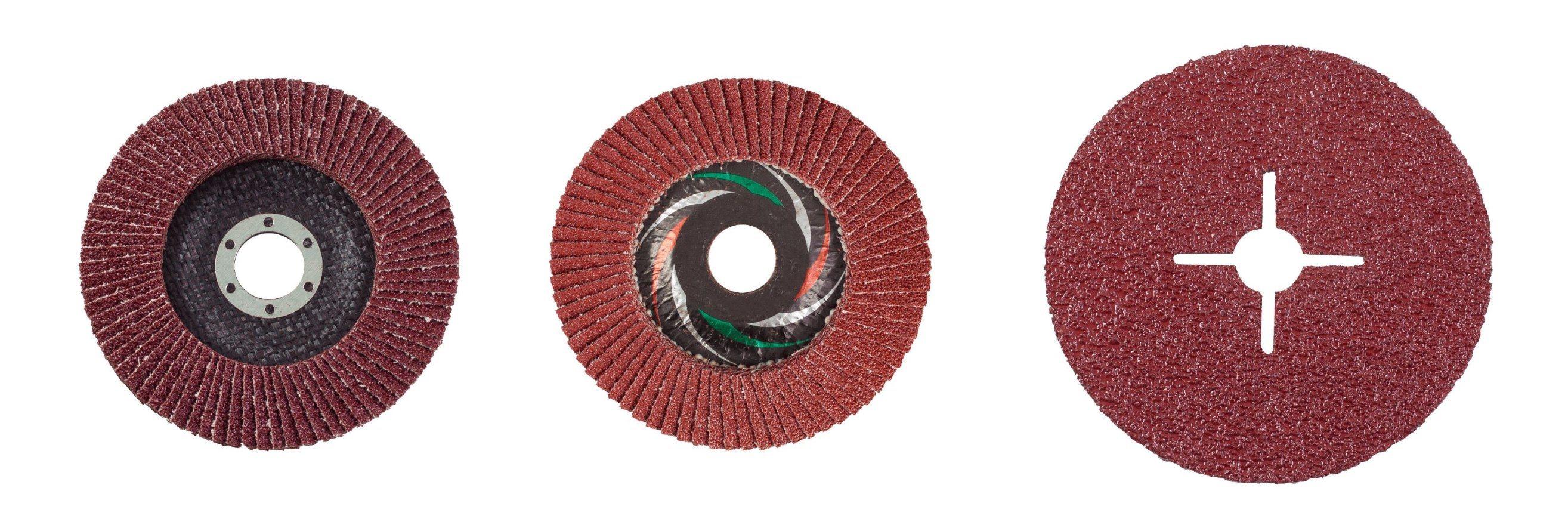 """200 Pack 4.5/"""" Zirconia Resin Fiber Disc 120 Grit 4-1//2/"""" Grinding /& Sanding Discs"""
