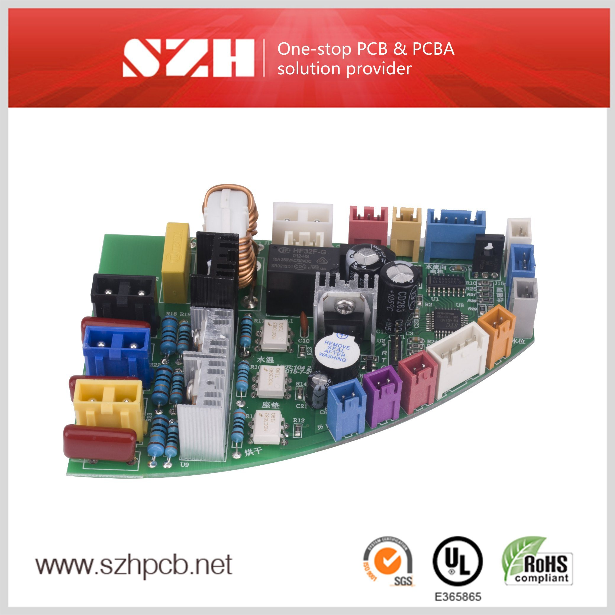 China 94v0 Automatic Bidet Pcb Circuit Board Manufacturer Manufacturing With Low Cost Assembly