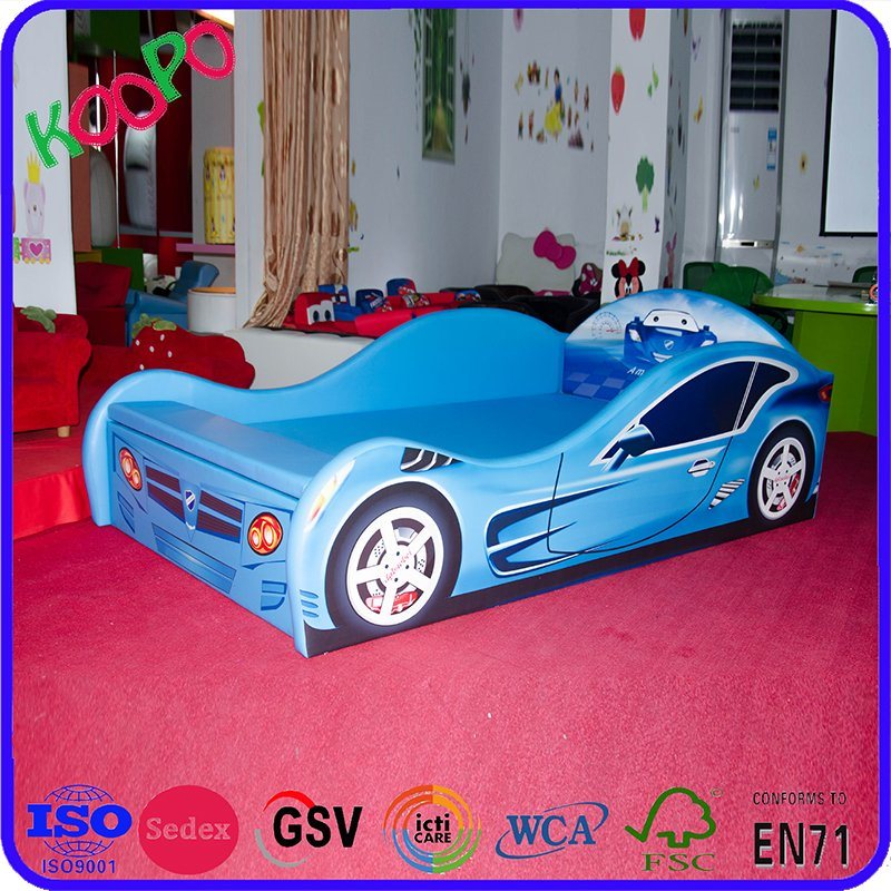 New Design Luxury PU Leather Car Children Bed/Kids Furniture pictures & photos