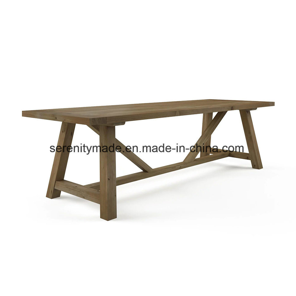 China Rustic Style Outdoor Wooden Hotel