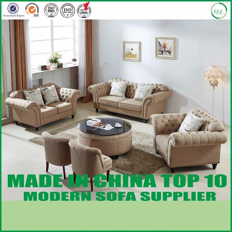 China Modern Living Room Leisure Fabric Sofa Set - China Sofa, Sofa Bed