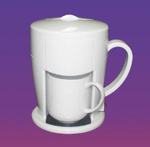 China Coffee Maker (JS-65G) (White) - China Coffee Maker