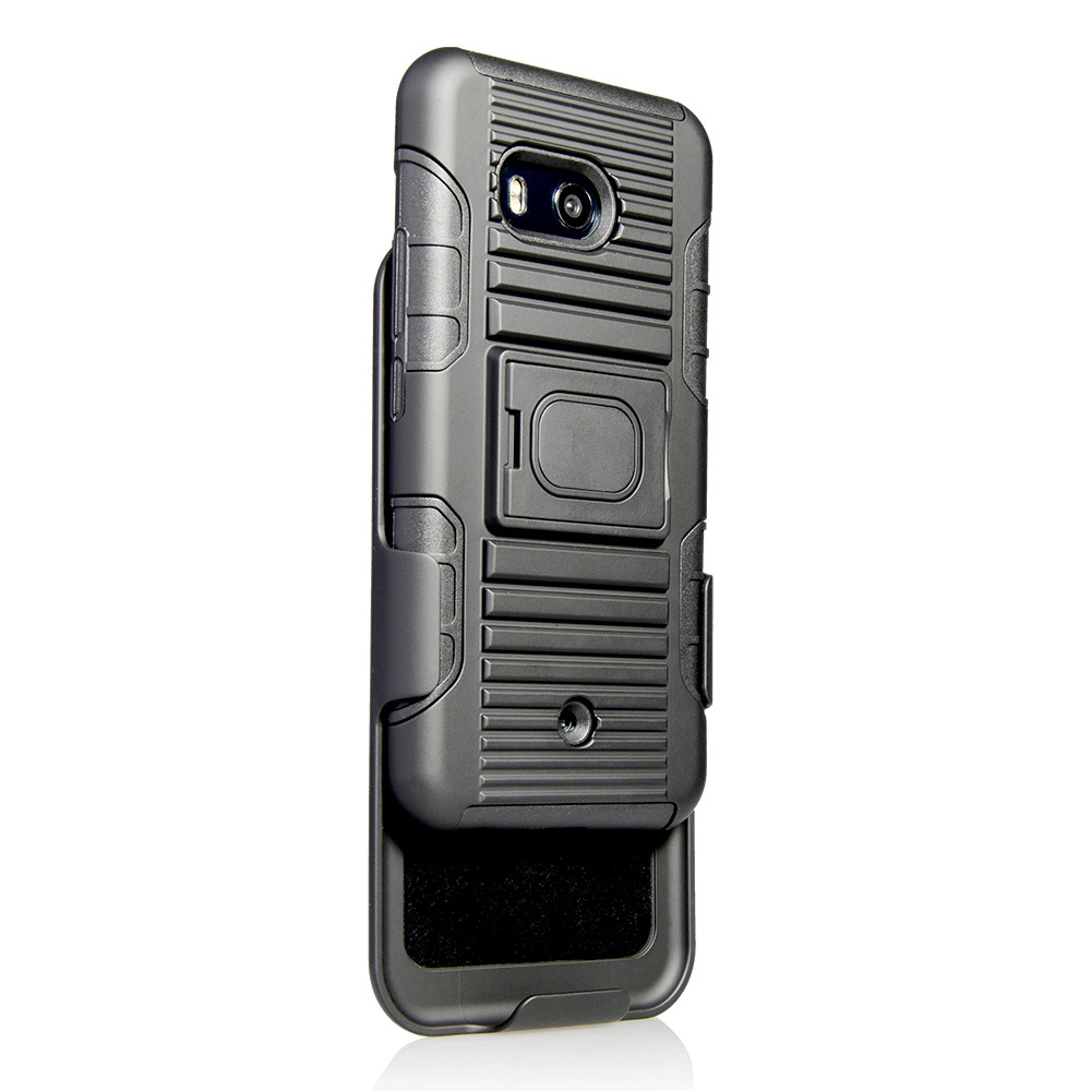 timeless design 47bde 963b1 [Hot Item] Wholesale Cell Phone Case for HTC U11 Case Hybrid Heavy Duty  Rugged Armor Cover for HTC U11 Holster Combo Case