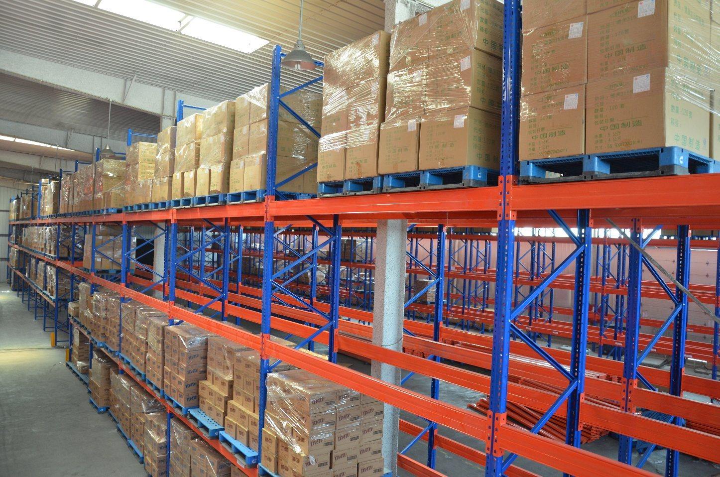 Hot Item Steel Heavy Duty Pallet Rack Industrial Rack And Shelving Warehouse Shelving Units