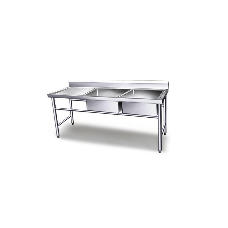 [Hot Item] Kitchen Stainless Steel Sink Work Table/Custom Made Kitchen Sinks