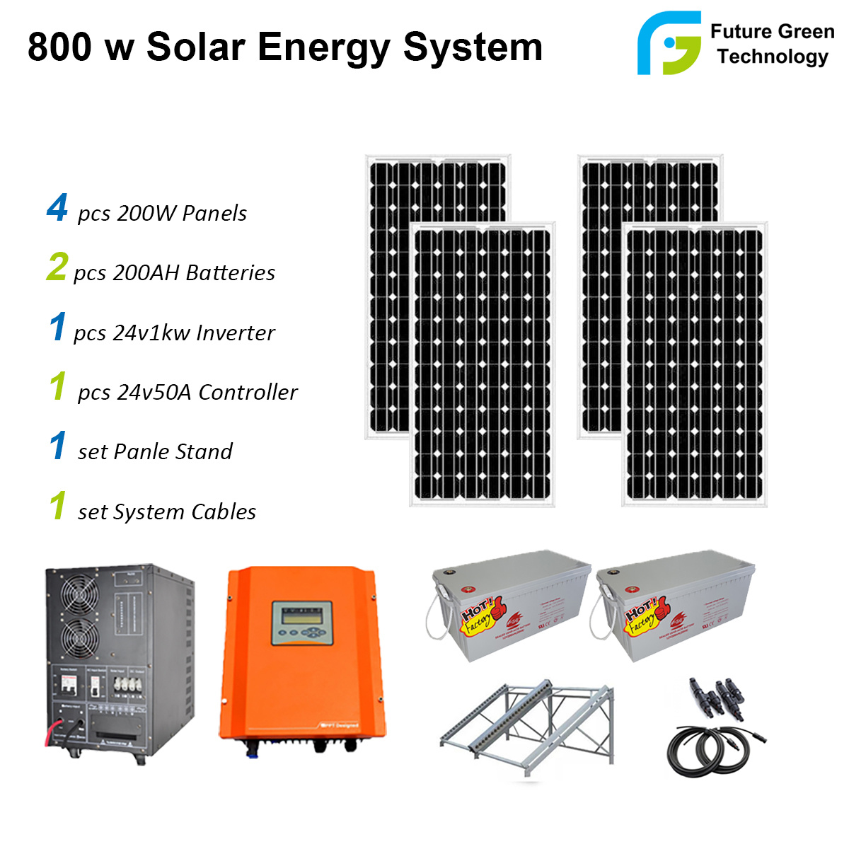 China 500w 800w 1000w Off Grid Pv Energy Solar Power System Panel Wiring Guide Home Generator