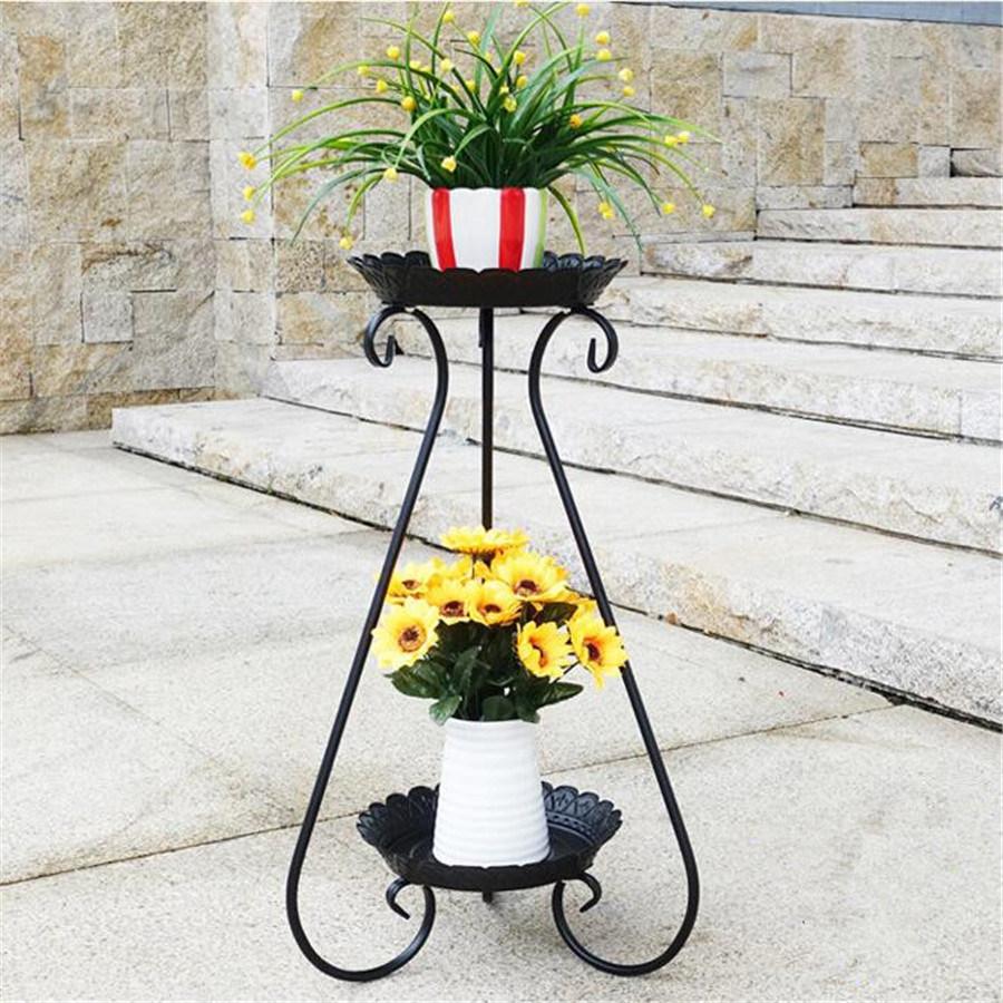 Anqique Wrought Iron Flower Planter