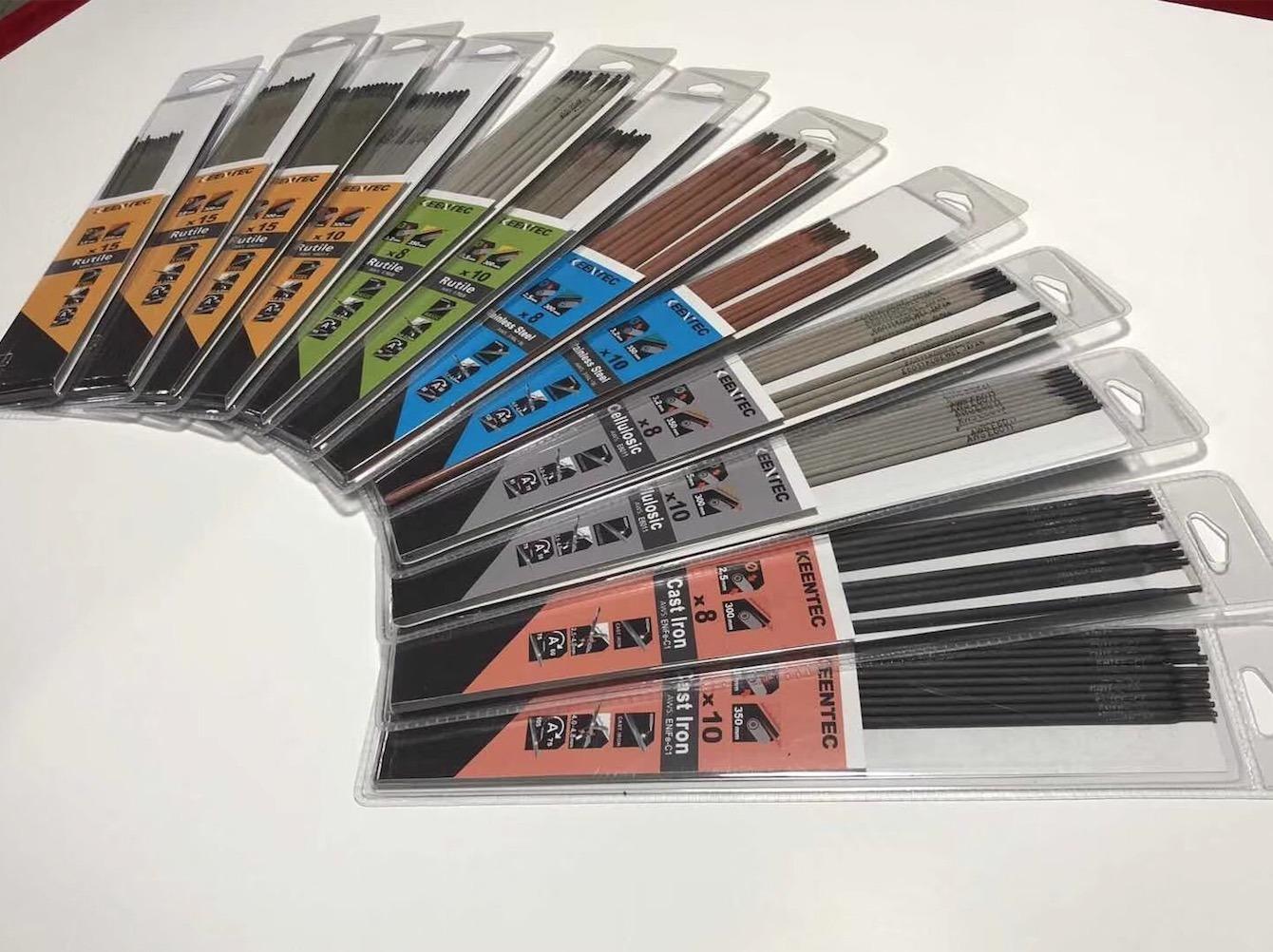 [Hot Item] Low Hydrogen Electrode E7018 1/8 Blister Pack