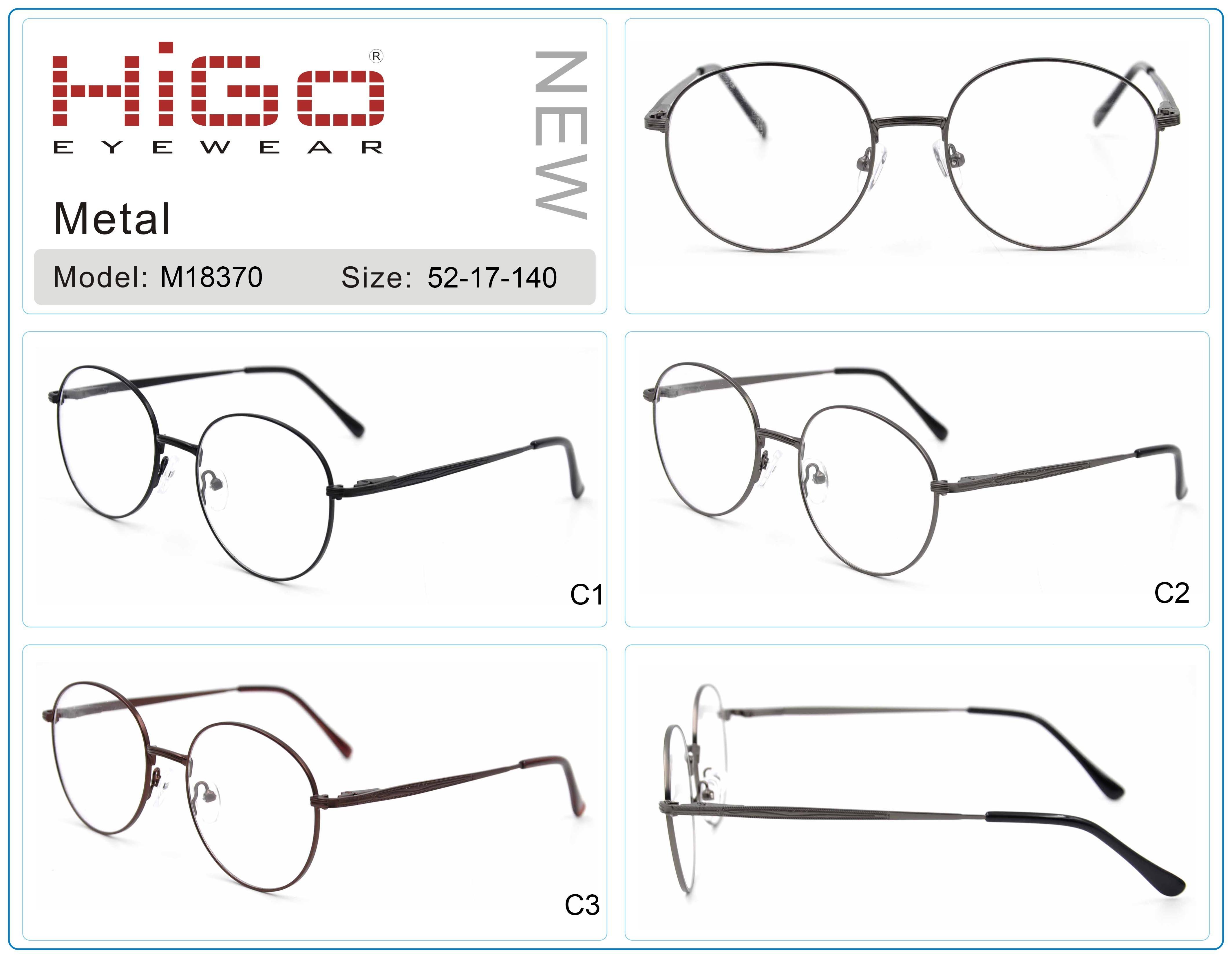 China Vintage Glasses Frame Round Metal Optical Frame Wholesale ...