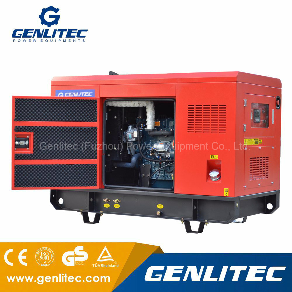 China 60hz Single Phase 15kw Silent Kubota Diesel Generator With Delixi Air Circuit Breaker Cdw16300 Manufacturer D1703 Bg Engine Set