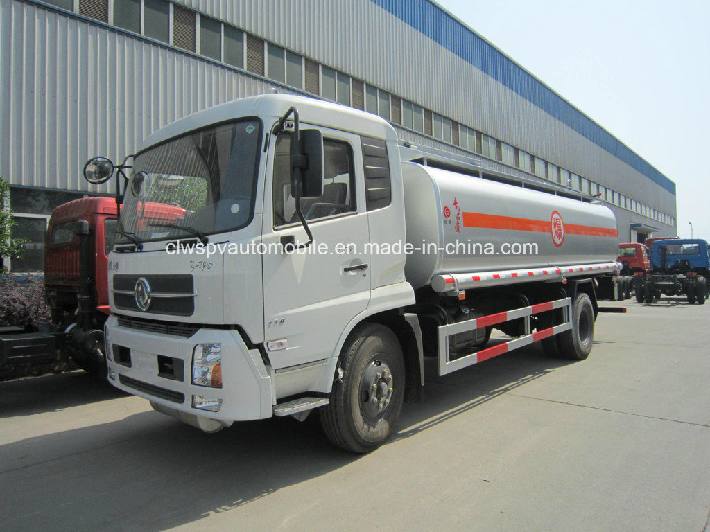 10 Tons to 12 Tons Fuel Tank 13cbm 15cbm Fuel Tanker Truck for Sale pictures & photos