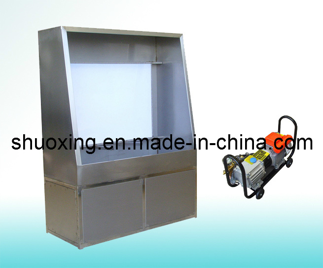 Stainless Steel Screen Washout Booth