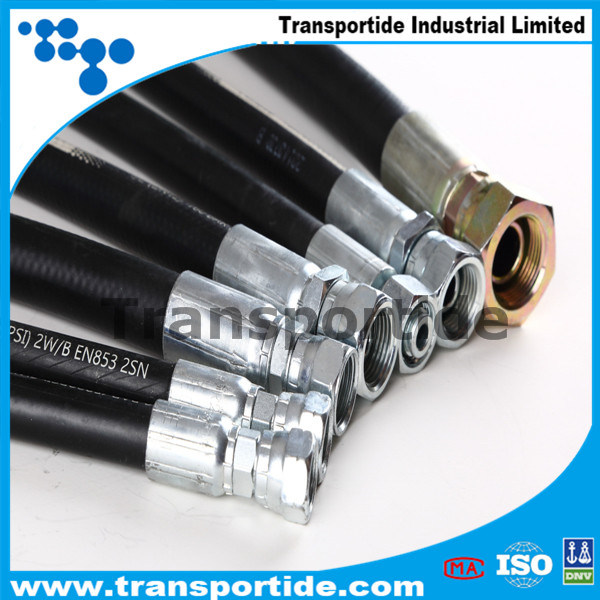 Transportide Oil Suction Delivery Rubber Hoses pictures & photos