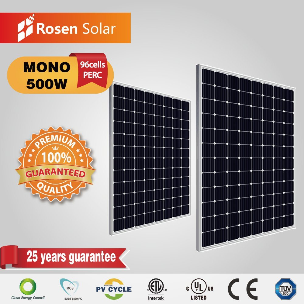 [Hot Item] Rosen 500W 96cells Mono Single Solar Panel