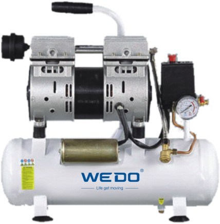 50L Tank Oilless (oil -free) Air Compressor 1.1kw pictures & photos