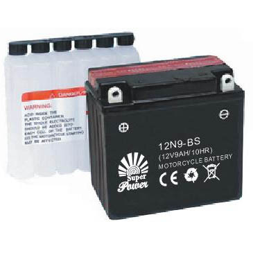 Mf Motorcycle Battery 12V 9ah with CE UL Certificate