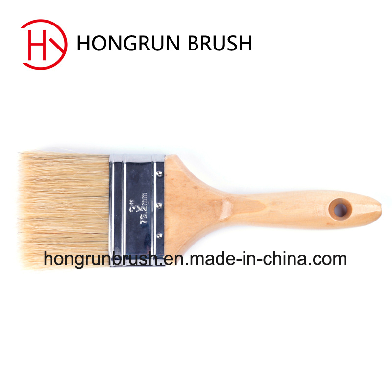 Wooden Handle Paint Brush (HYW0132) pictures & photos