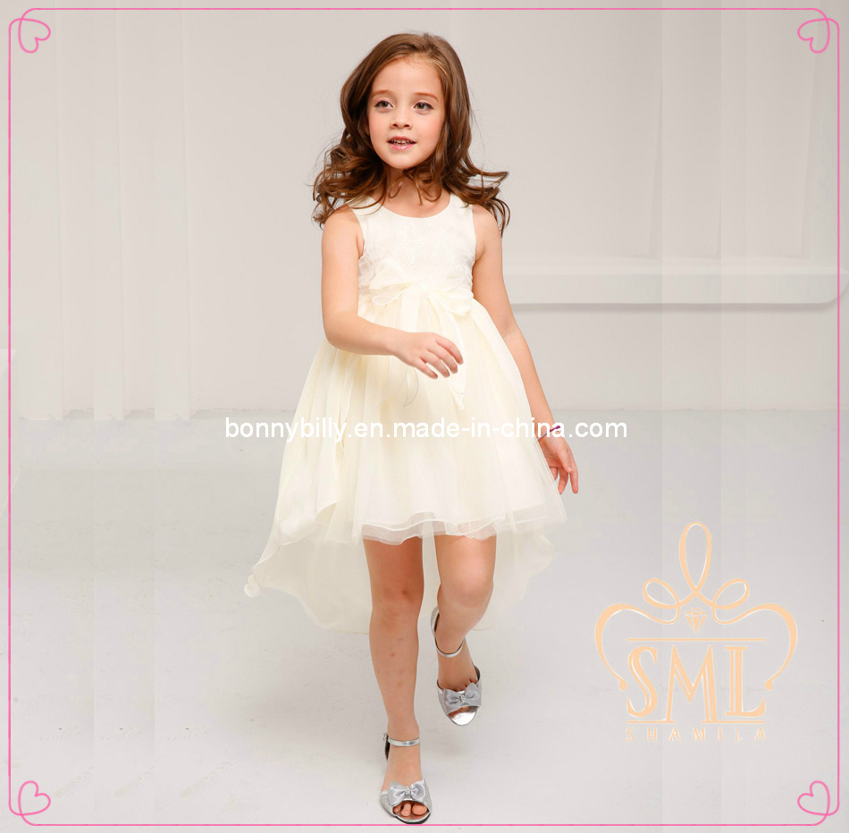 Childs Pink Bridesmaid Dress