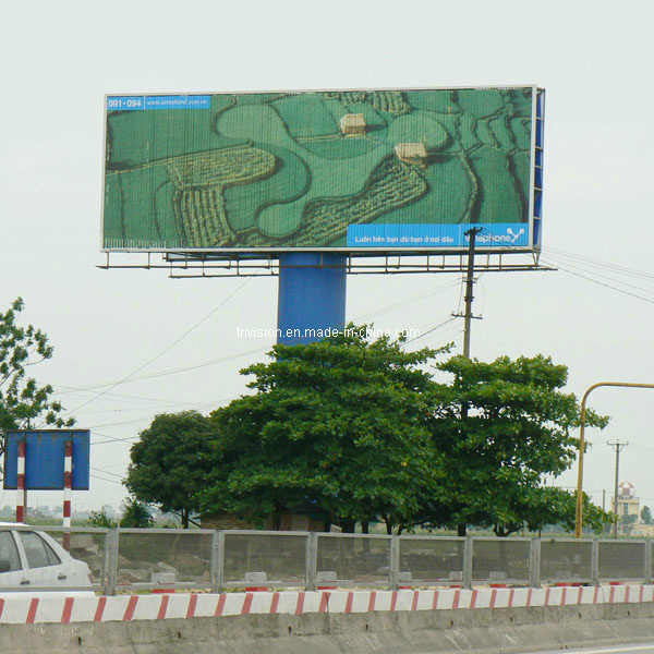 Large Expressway Prisma Triple Billboard Advertisement (F3V-131S)