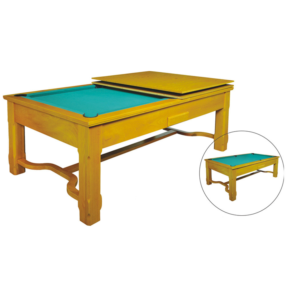 china elegant 2 in 1 pool billiard and dining table