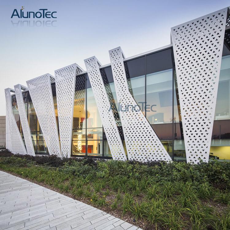 China Aluminium Wall Cladding Systems Laser Cut Metal