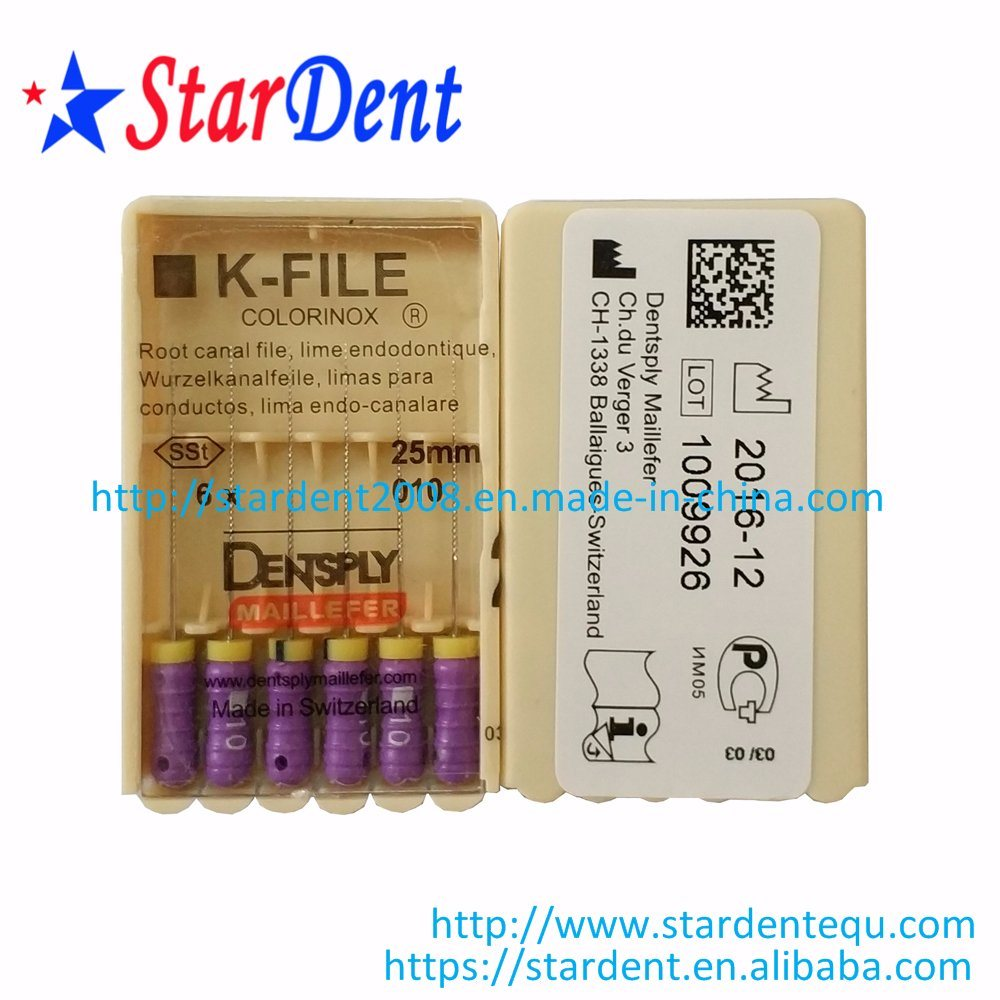 Dental Maillefer K-File Instrument Dentsply of Surgical Medical Instrument pictures & photos