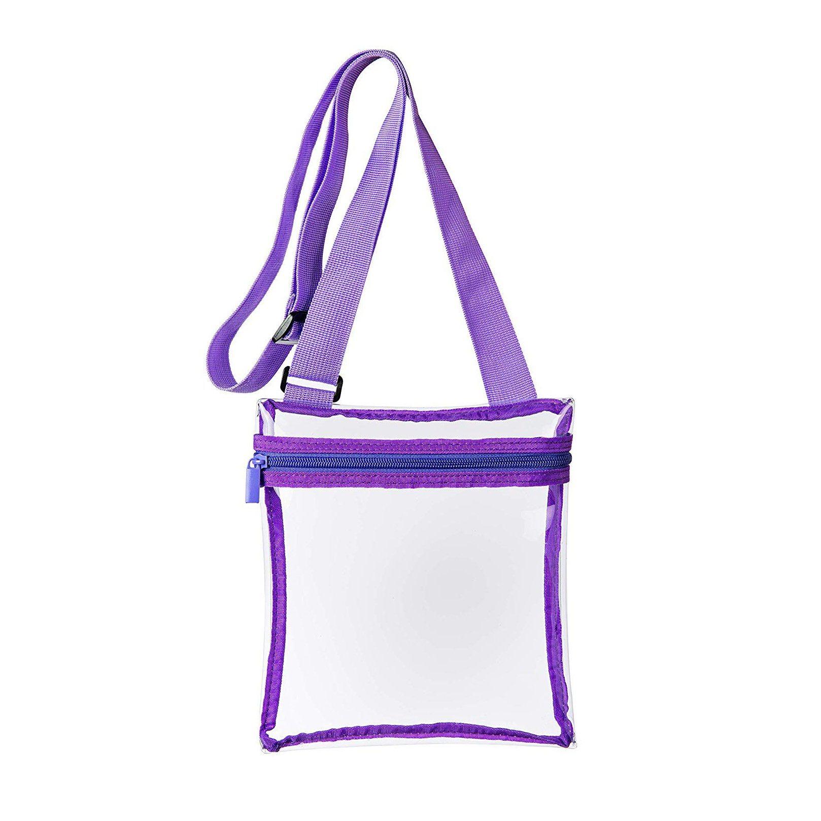 China Clear Messenger Bag Adjule