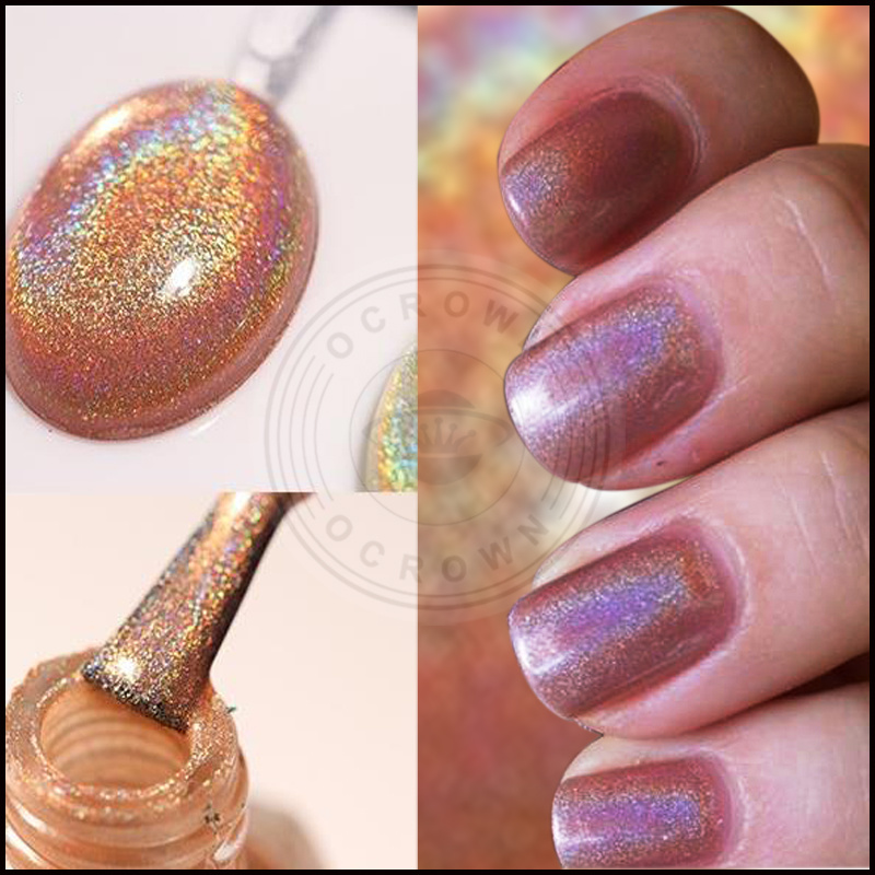 China Laser Gitter Rainbow Dust Holographic Pigment Nail Art Holo ...