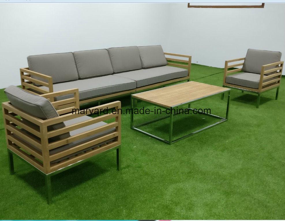 China Teak Wood Outdoor Sofa Set China Sofa Outdoor Furniture