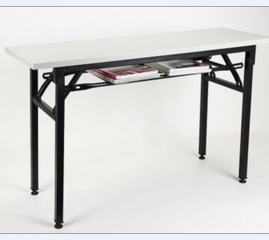 Hot Item Good Quality Book Storage Foldable Office Desk