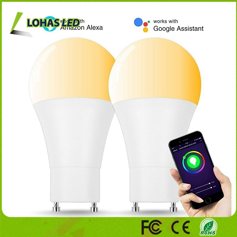 9W A19 Gu24 WiFi Smart Bulb 60W Equivalent LED Bulb Compatible with Alexa and Google Home pictures & photos