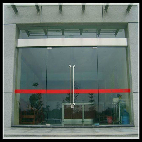 China Electric Aluminum Sliding Glass Patio Door Automatic Double